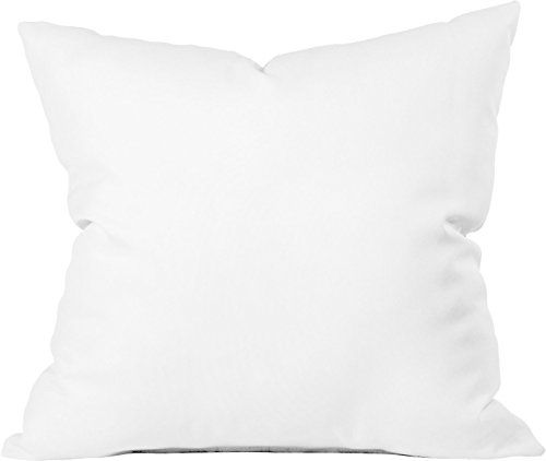 "24X24 Pillow Insert 24"" X 24"" Indooroutdoor Polyester Fill Pillow Form Whitehttp"