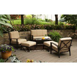 Home Trends 6pc Urban Haven Ii Patio Set   Walmart.com. Front Yard ...