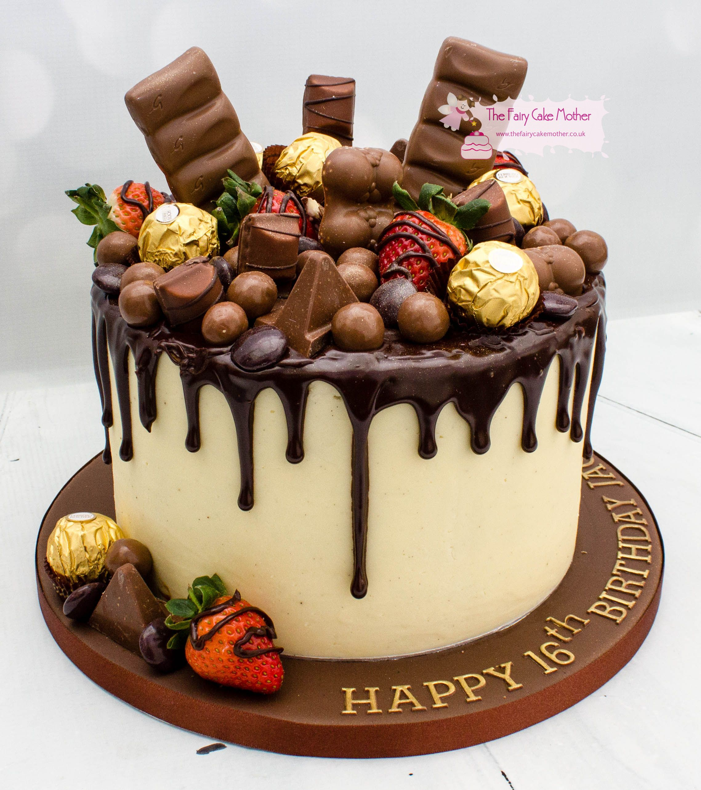 Surprising Chocolate Drip Cake Birthday Cake Chocolate Drip Cakes Funny Birthday Cards Online Inifodamsfinfo