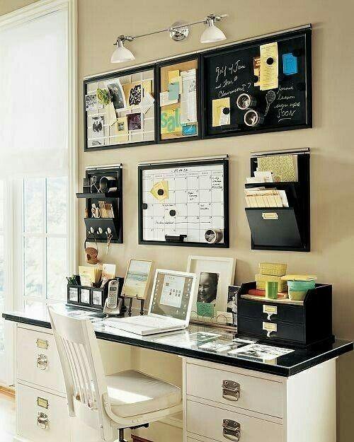 Organizar escritorio H Pinterest Organizations, Decorating and