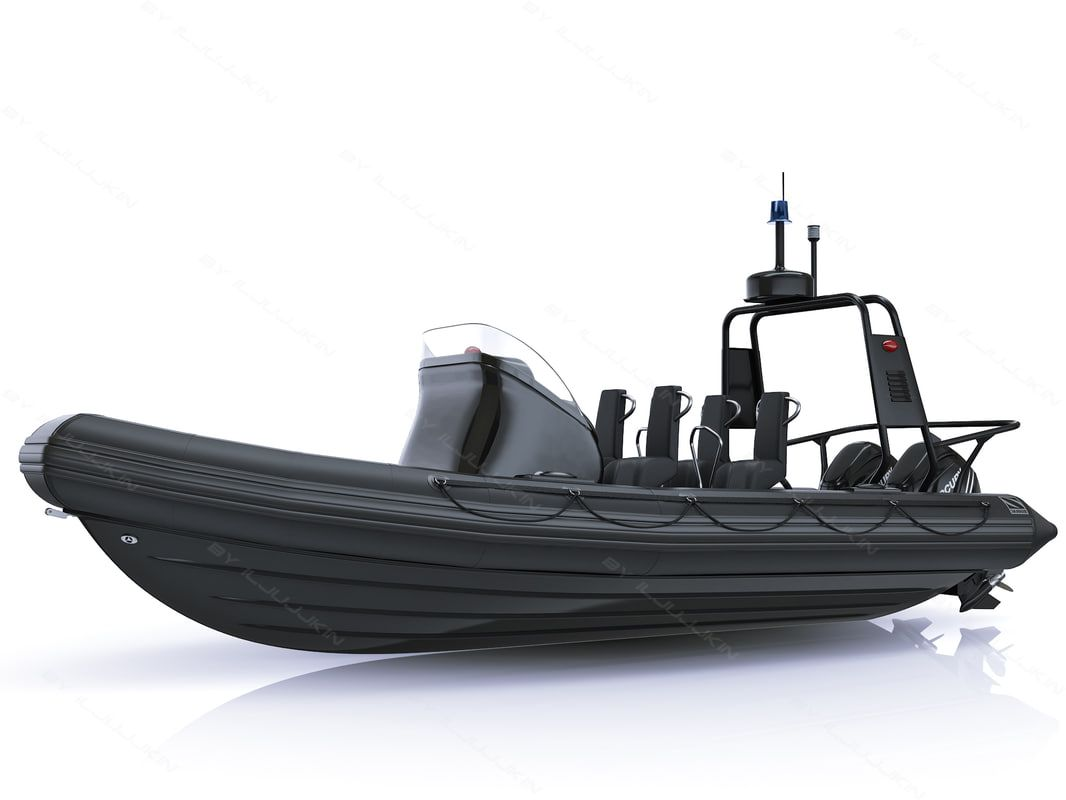 military inflatable boat zodiac 3d model | Inflatable boat, Boat, Rib boat