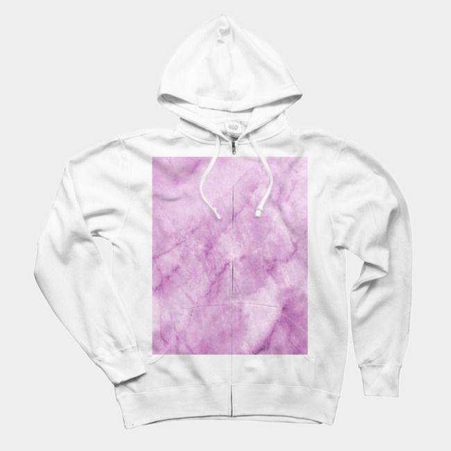 bc49d523 Purple Marble Texture Art Sweatshirt | Men's Zip Hoodie | Pink ...
