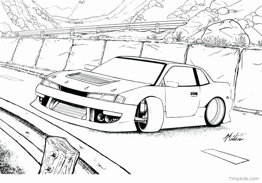 Coloring Pages Cars Trucks Fresh Drift Car Coloring Pages Desenhos Sombreados Ideias Para Desenho Desenho