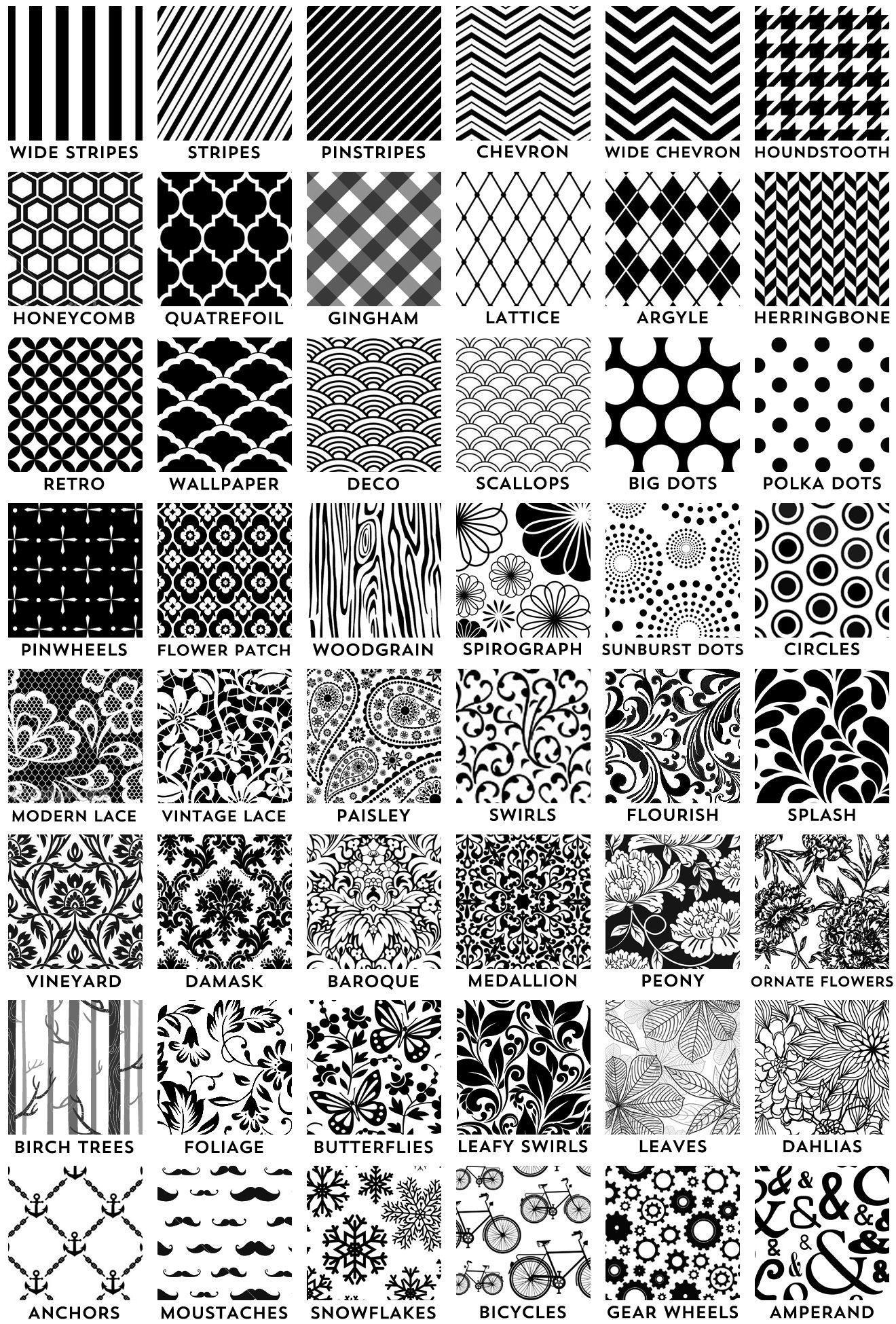 Black And White Envelope Liner Pattern Ideas I M Totally Doing