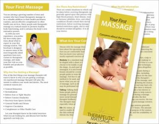 Your First Massage Brochure SomaticmasdsagepcCom  Somatic