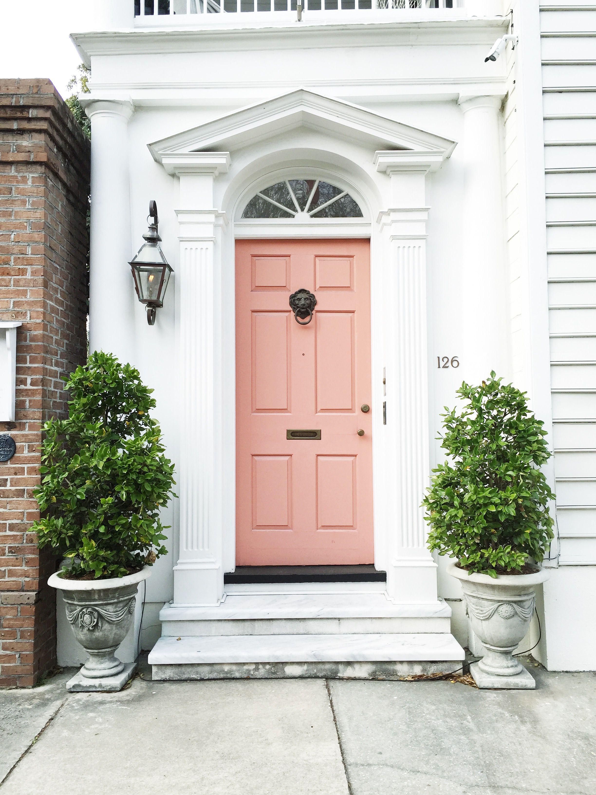The Perfect Culinary Weekend In Charleston Coral Door Coral Front Doors Front Door