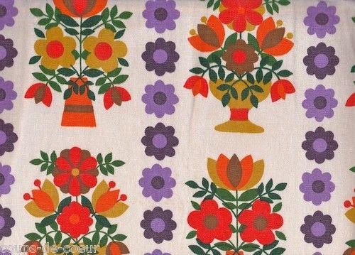 1970s fabric