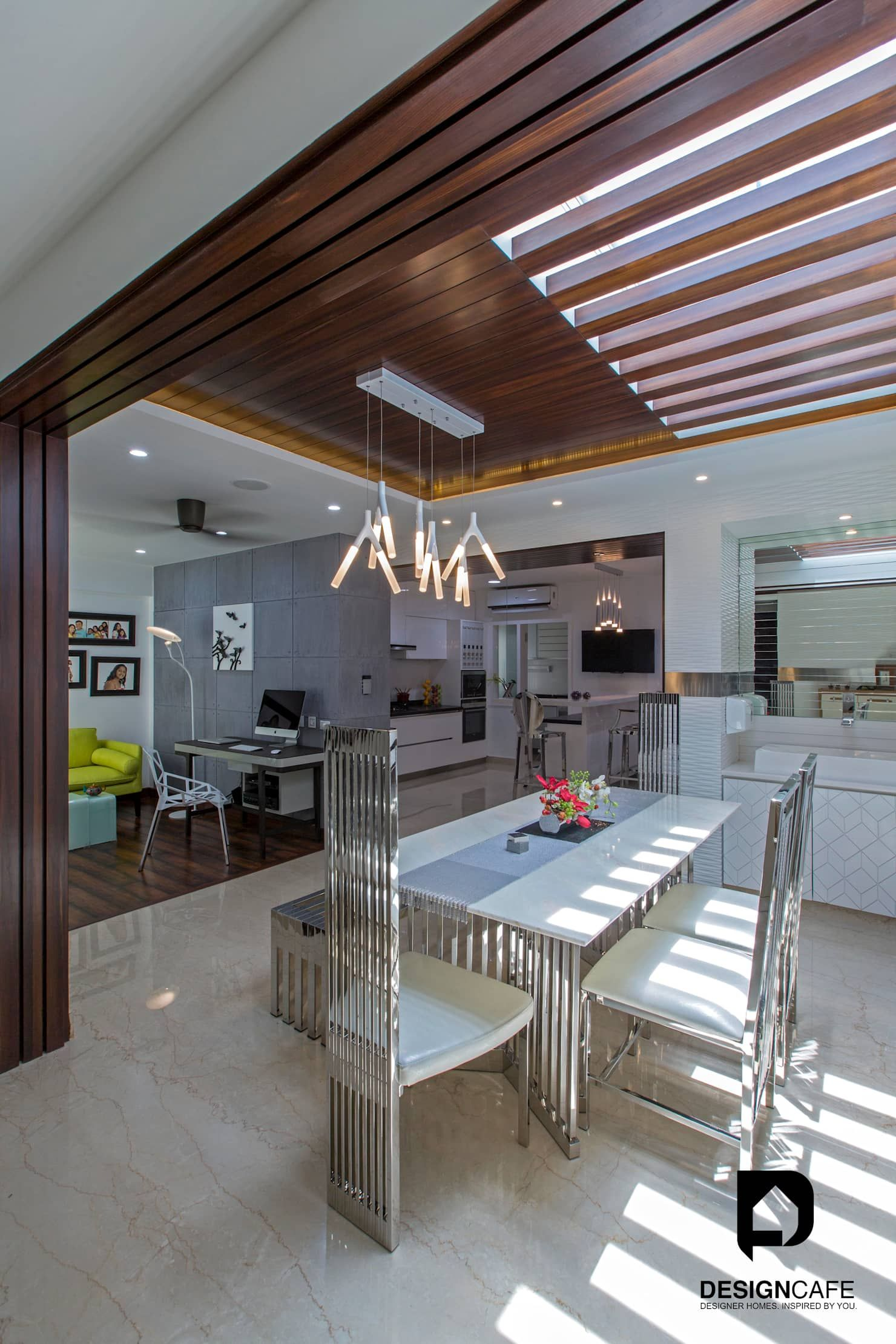 Ms Chaitras Residential Project Dining Room By Design Cafe