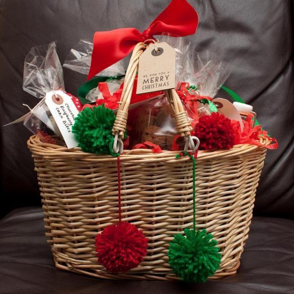 Cómo Hacer Una Cesta De Navidad Económica Cestas De Regalos De Navidad Cestas De Navidad Regalos De Navidad Caseros