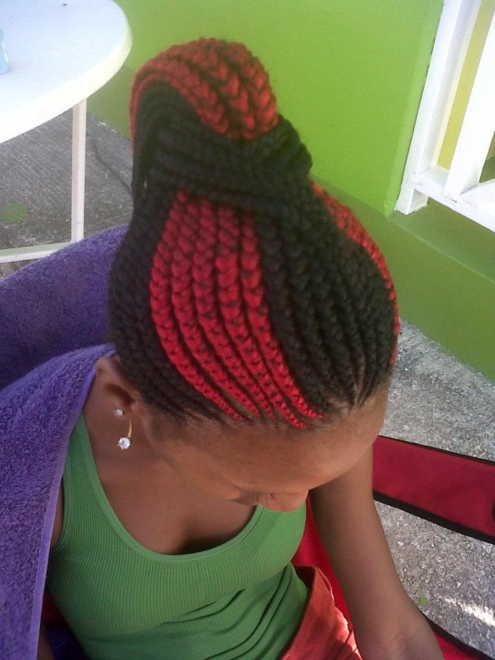 Braided Mohawk Hairstyles For Black Kids