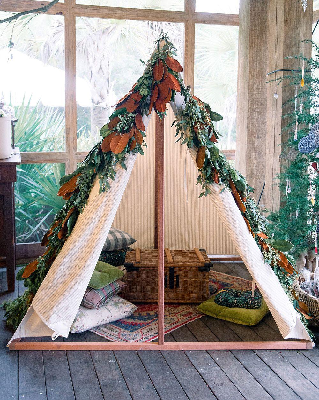 Homemade tent by HobNob Entertaining toys childdecor