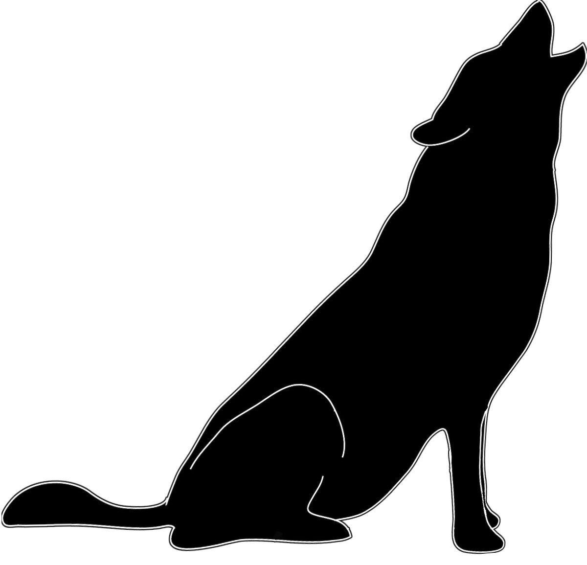 Wolf Silohette Silhouette Clip Art Animal Silhouette Wolf Silhouette