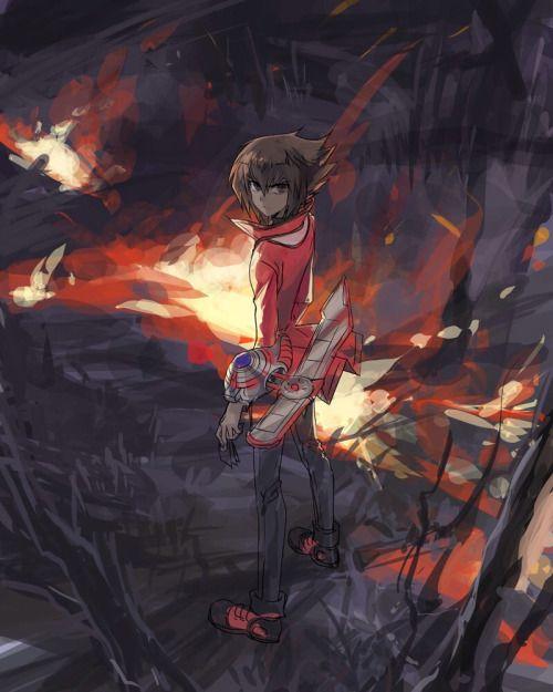 Jaden Yuki Yu-Gi-Oh! GX   yugioh   Anime comics, Anime