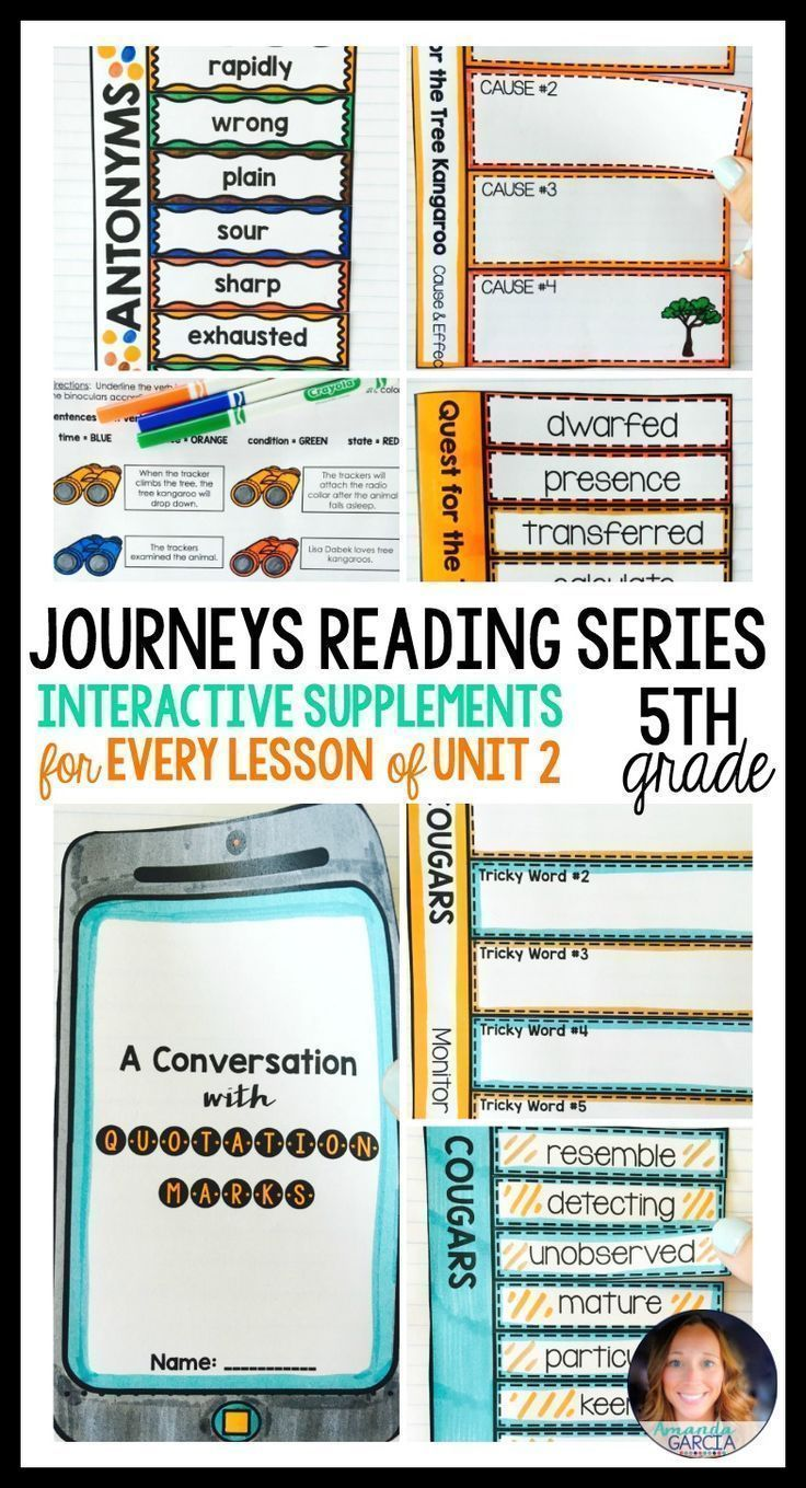 Worksheets Old Yeller Worksheets journeys grade 5 unit 2 bundle supplemental materials with fifth graders love these fun interactive notebook supplements and printable worksheets this is aligned