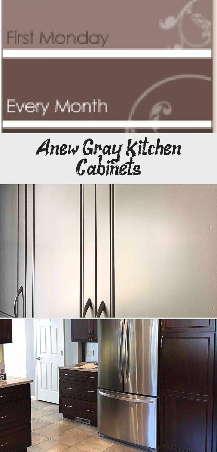 Best Anew Gray Kitchen Cabinets In 2020 Grey Kitchen Cabinets 400 x 300