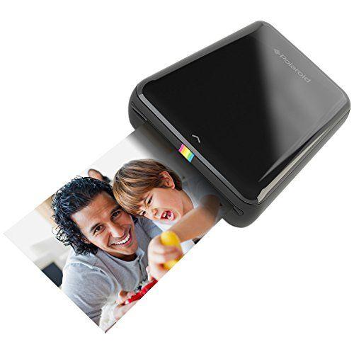 Amazon Com Polaroid Zip Instant Mobile Printer Black Camera Photo Mobile Printer Smartphone Printer Mobile Photo Printer