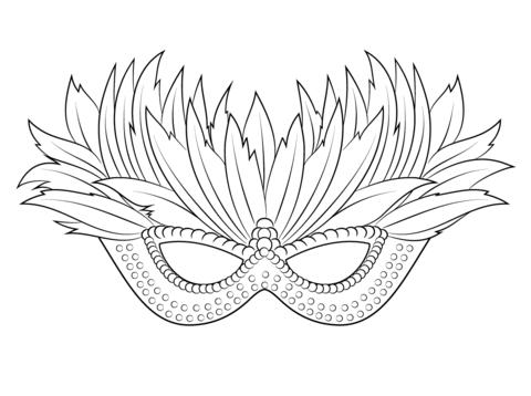 Venetian Mardi Gras Mask Coloring Page Free Printable Coloring Pages Coloring Pages Free Printable Coloring Pages Mardi Gras
