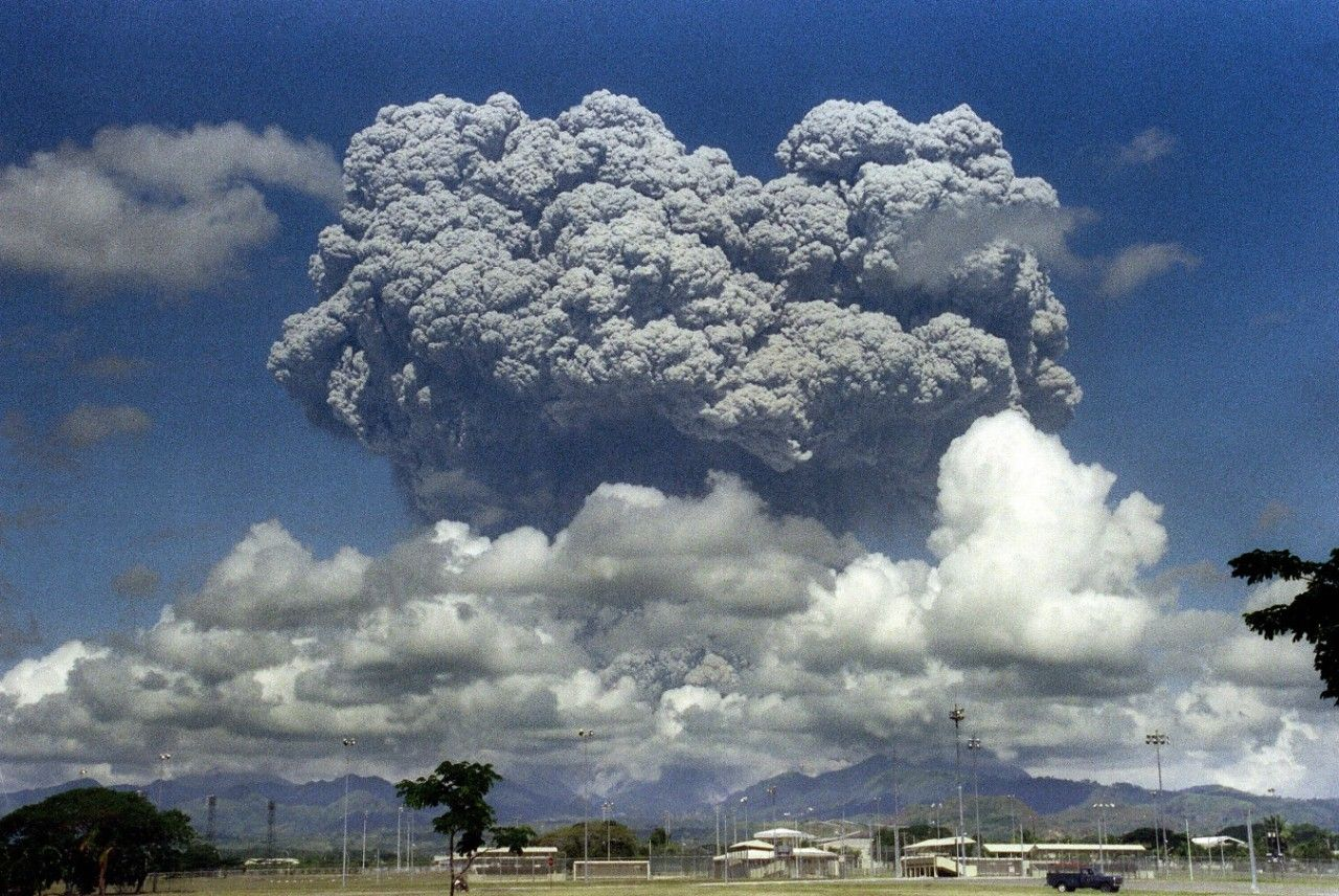 An Exploding Volcano Slowed Global Warming Briefly Nature Volcano Global Warming