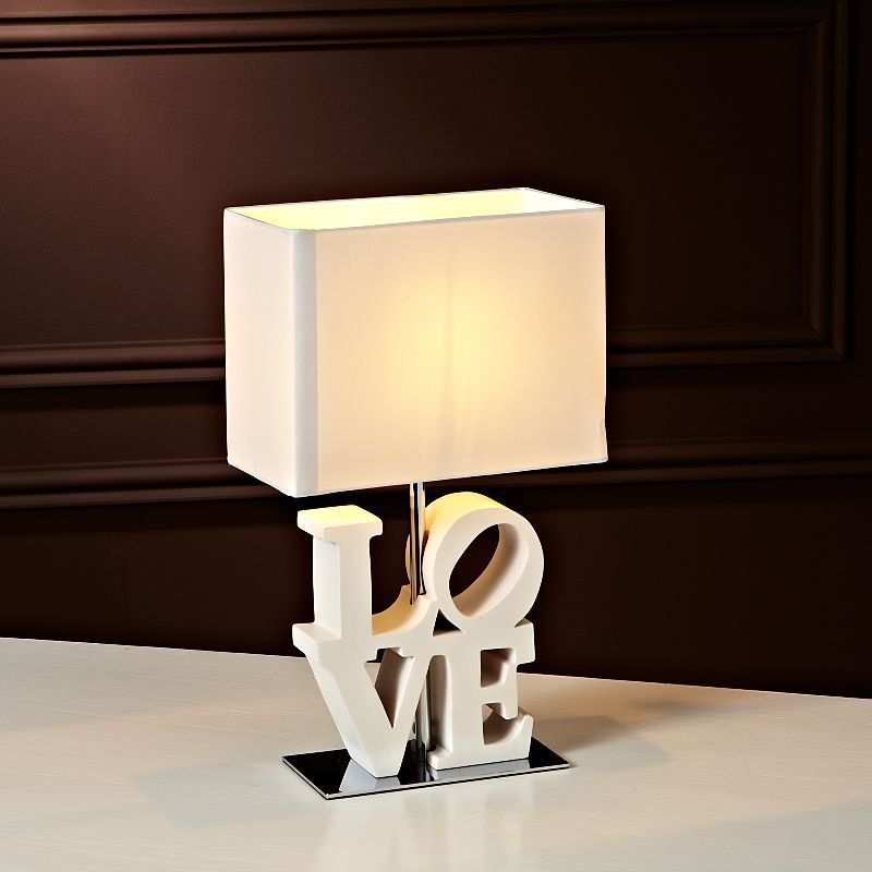 ASDA Wood Love Table Lamp