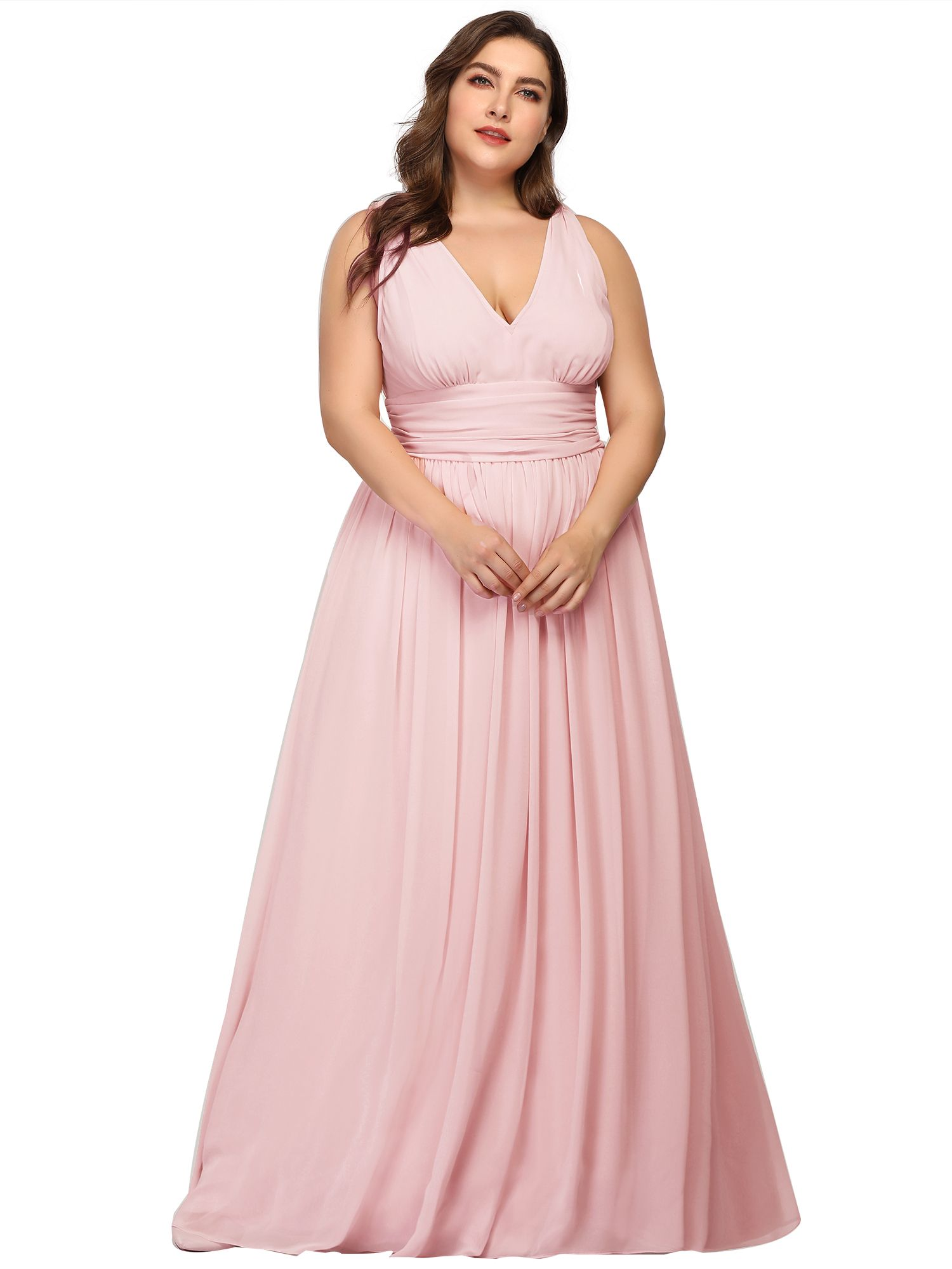 Ever Pretty Ever Pretty Womens Plus Size Long Evening Dresses For Women 90162 Pink Us22 Walmart Com In 2021 Bridesmaid Dresses Plus Size Plus Size Dresses Maxi Dress Party [ 2000 x 1500 Pixel ]