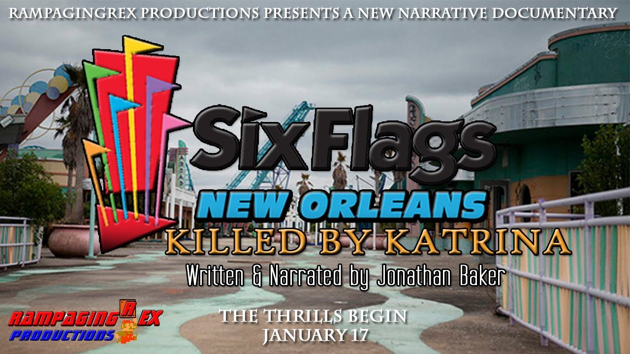 Six Flags New Orleans Killed By Katrina Photography Pinterest - 10 years hurricane katrina six flags theme park new orleans still lies abandoned 10 years