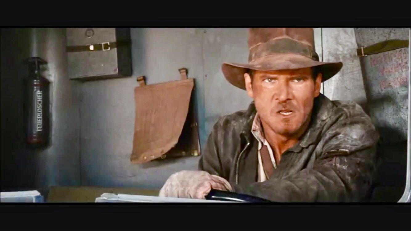 Raiders Of The Lost Ark Truck Chase Indiana Jones Films