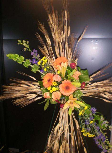 Wheat funeral g pixels flowers