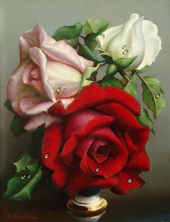 Картинки для декупажа белая роза
