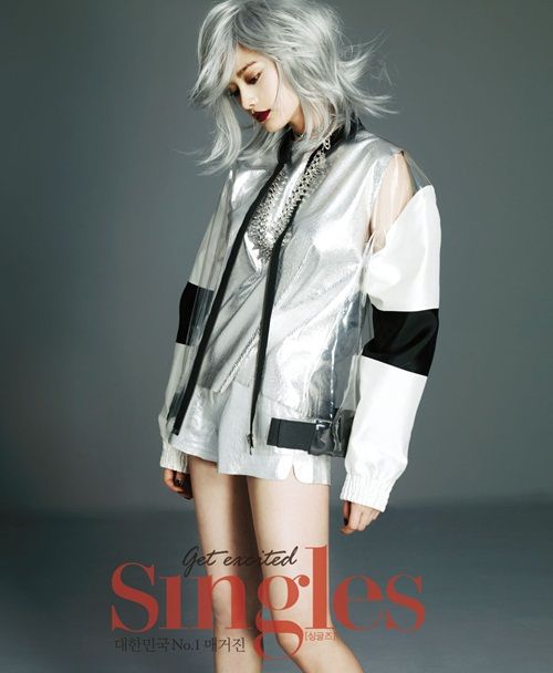After School Nana - Singles Magazine March Issue '13