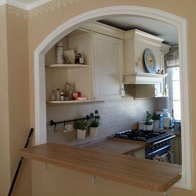 Decoracion arcos para casas buscar con google for Cocinas modernas pequenas para apartamentos con desayunador