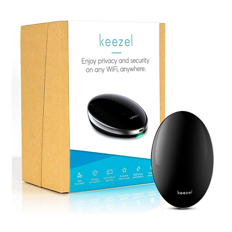 Keezel 2 0 Vpn Portable Router Lifelong Free Plan In 2020 Vpn Router Wifi Internet Router