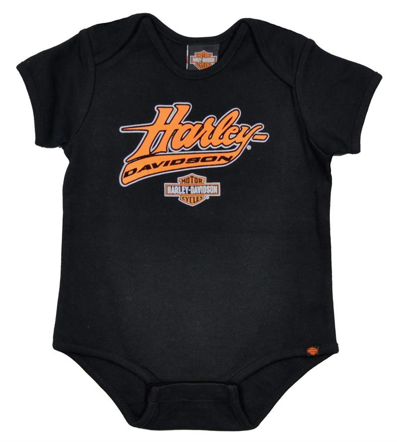 Harley Davidson Baby Clothes Pleasing Harleydavidson® Boys' Bar & Shield® Creeper  Harleydavidson Kids 2018