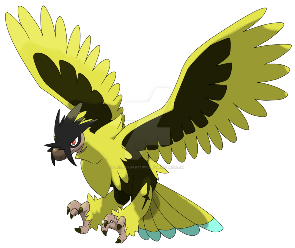 Name Volture Species The Lightning Wing Pokemon Type Electric Flying Entry Are Social That Live Near Heavily Poted Areas Where They
