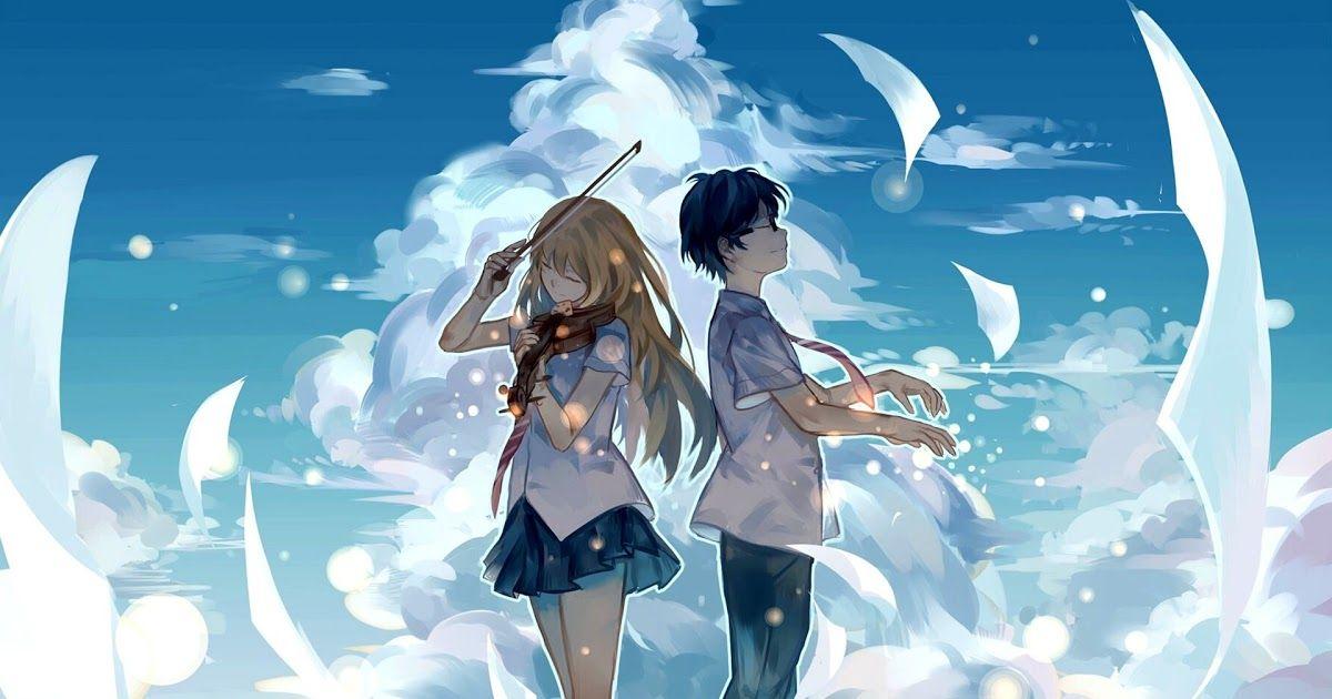 75 Love Anime Wallpapers On Wallpaperplay Wallpaper Anime Couple Crying Your Name Kimi No Na Wa 1037 Best Couple P In 2020 Hd Anime Wallpapers Anime Background Anime