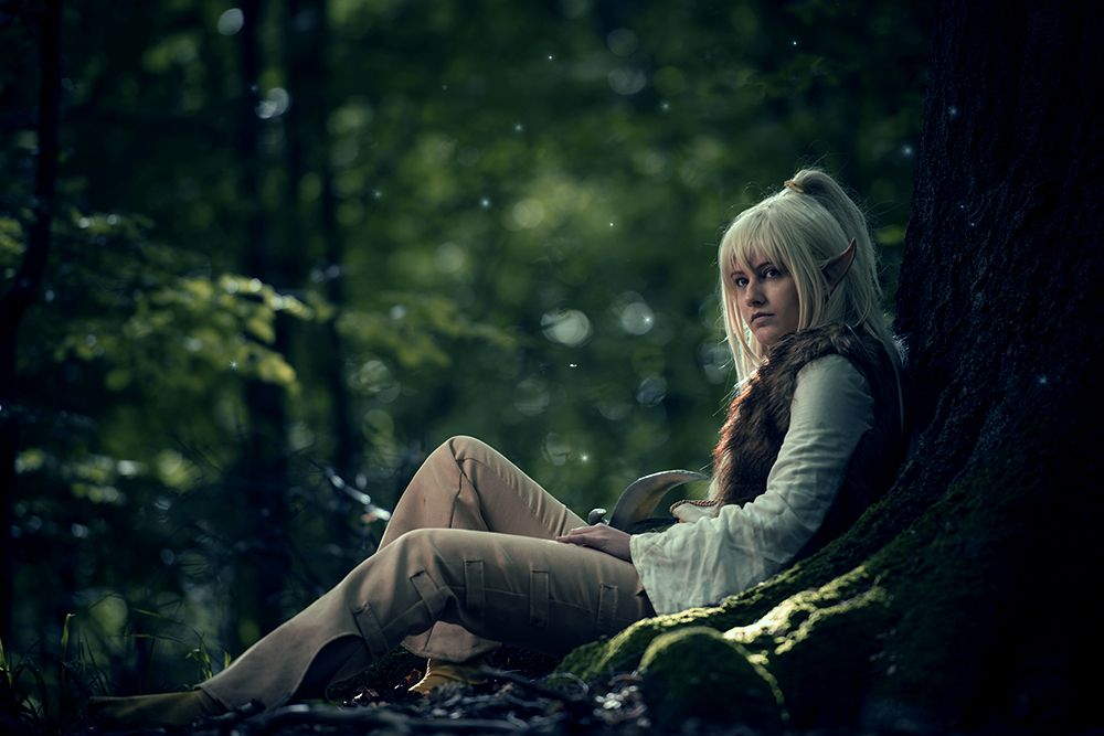 """The magical forest that used to be 'home'"" by Zuum.deviantart.com on @deviantART. VERY cool cosplay of Cutter from Elfquest."