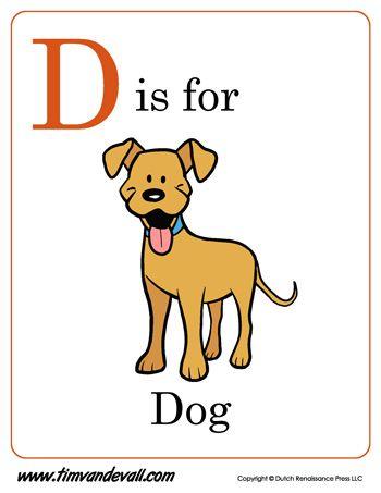 d is for dog letter d preschool printable printable alphabet book d is for dog letter d. Black Bedroom Furniture Sets. Home Design Ideas