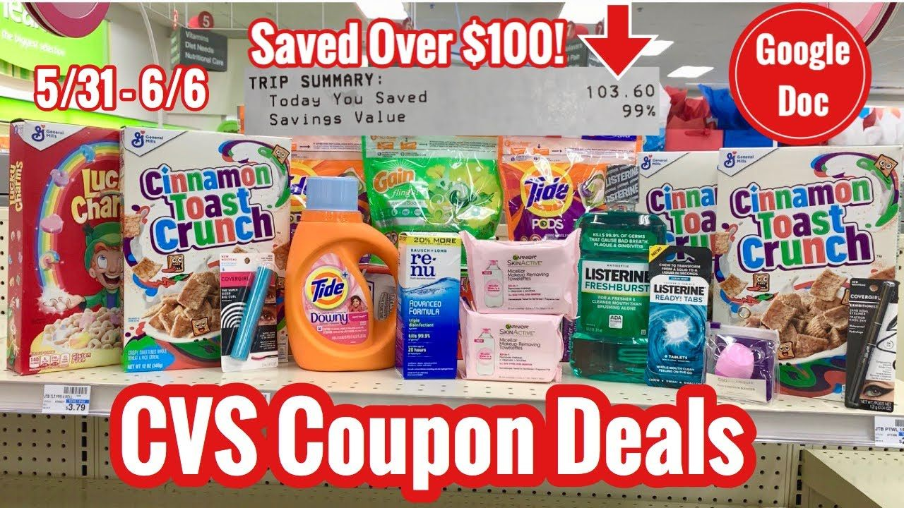 CVS Couponing Haul Free & Cheap Deals for 5/31 6/6