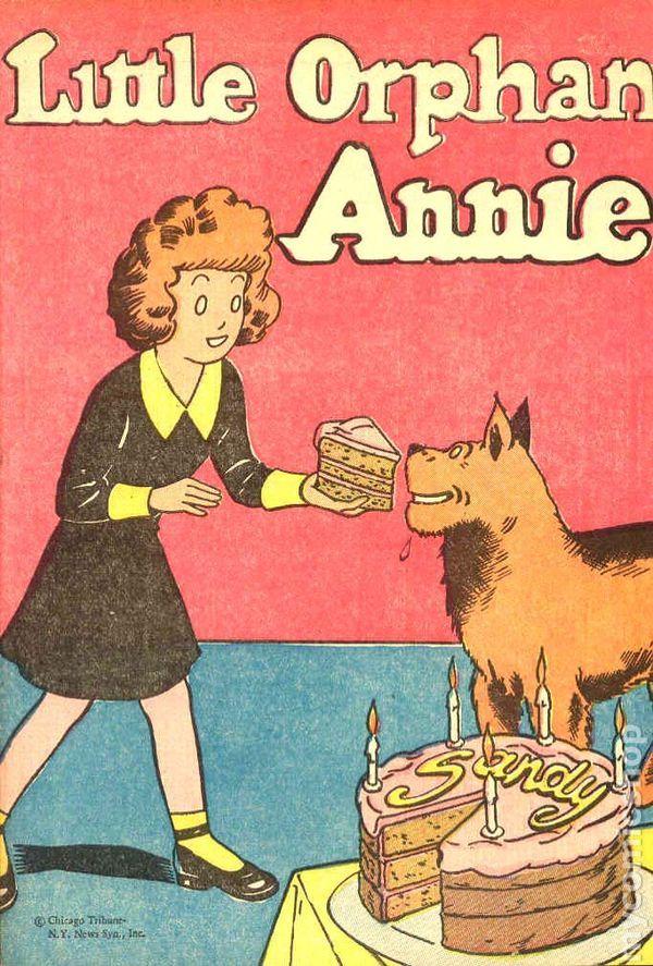 Little orphan annie comic books issue 1