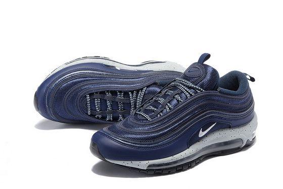 Nike Air Max 97 VIVId Blue Dark Royal Navy Blue 554716 404 2018 Authentic  Shoe f76c90070