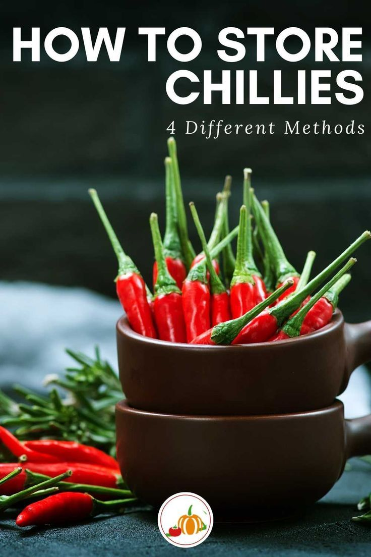 How to Store Chillies in 2020 Vegetable harvest, Chilli