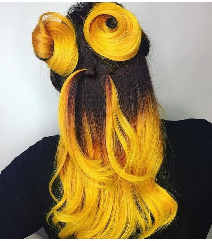 Pin by Melissa Chiusano on Bc I'm a cosmetologist Yellow