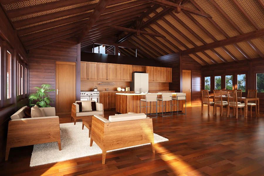 classic sustainable balinese style homes interior design ideas