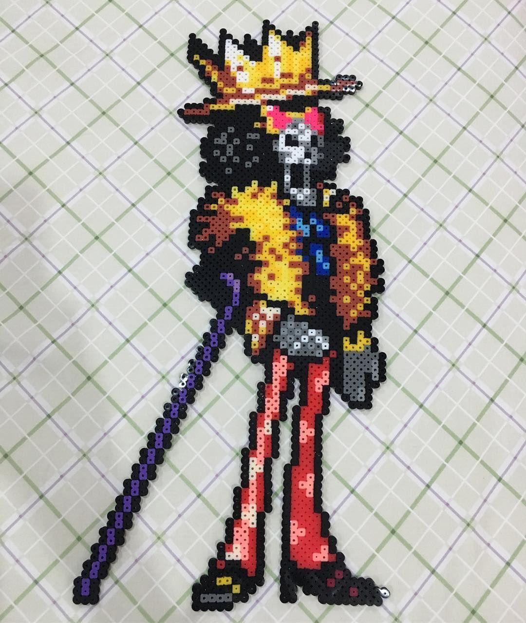 Brook One Piece perler beads by pastelbeadshop | Pixel Art ... - photo#25