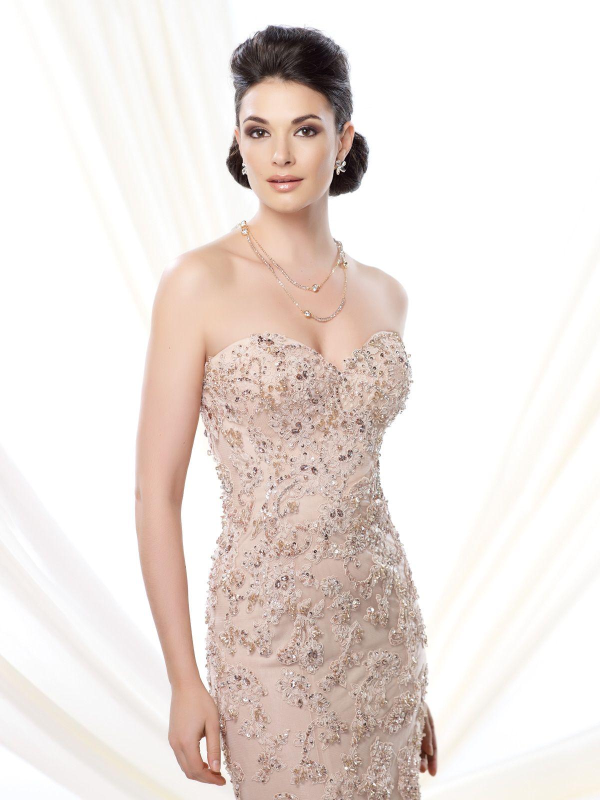 Ivonne d evening dresses d mermaid gown david tutera and