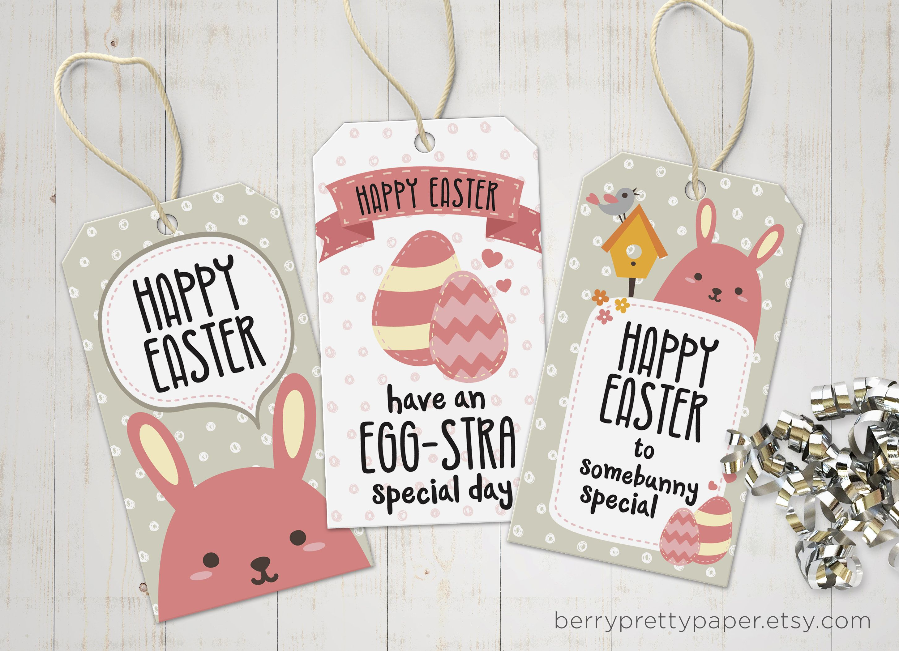 Easter gift tags download printable tags for easter print and easter gift tags download printable tags for easter print and cut easter party favour for kids diy easter party printable pink negle Choice Image
