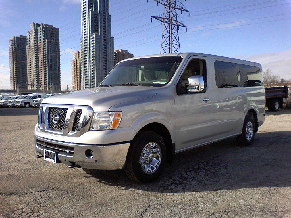 Nissan nv passenger vans nissan nv passenger pinterest nissan commercial van and cars