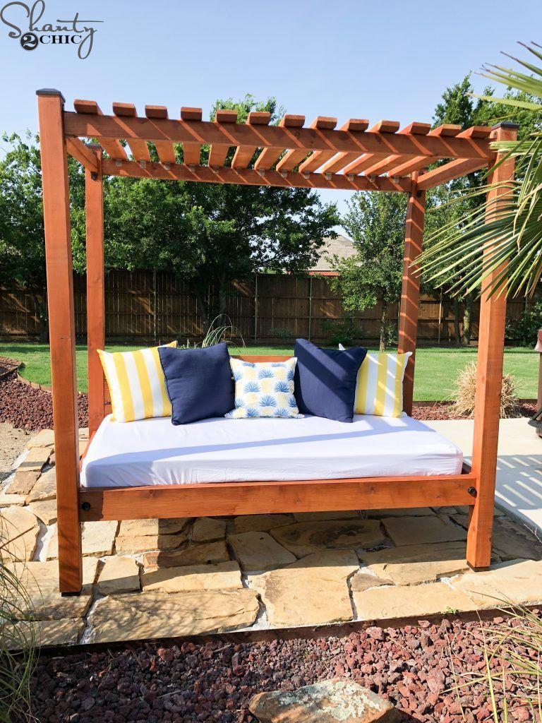 - DIY Outdoor Day Bed Outdoor Daybed Diy, Diy Outdoor Furniture