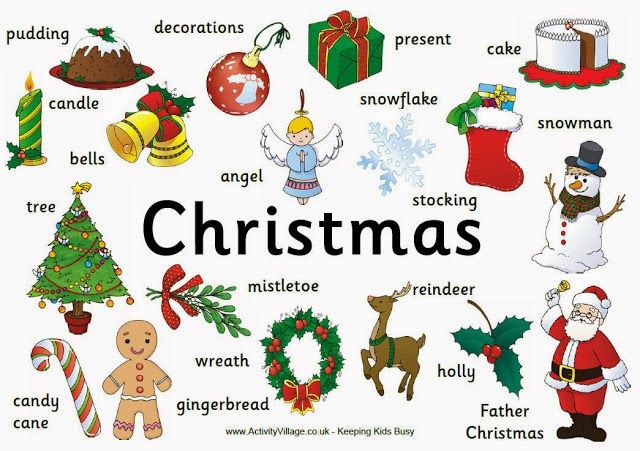 "English with Eve: ""Christmas Topic: Games!"""