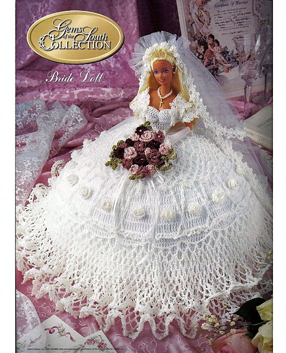 Gems of the South Collection Bride Doll Annies Calendar Bed Doll ...