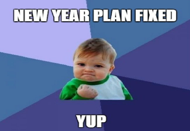 New Funny Memes: Funny New Year Meme For Wishing